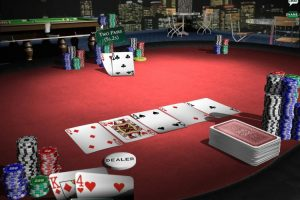 Learn how to play online Texas Hold'em